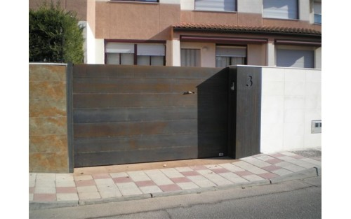 Puertas correderas puertas faher - Puertas de chalet ...
