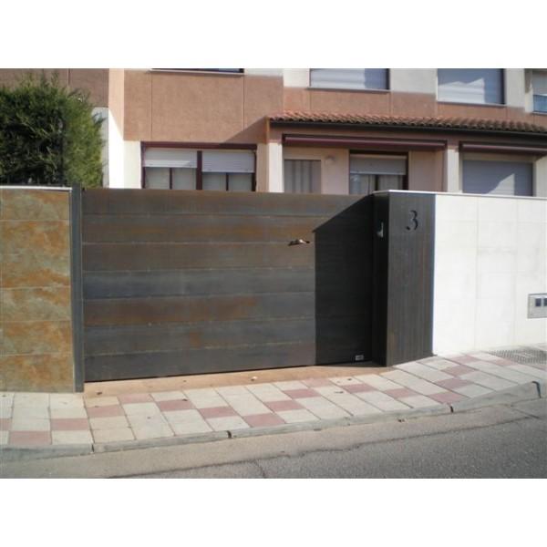 Puertas correderas puertas faher - Portal de corredera ...